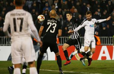 Europa League Round of 32 First Leg - Partizan Belgrade vs Viktoria Plzen