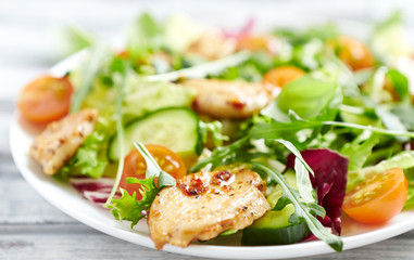 Chicken Salad with Rocket