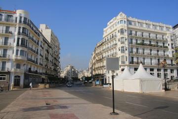 Alger la blanche, capitale d'Algérie