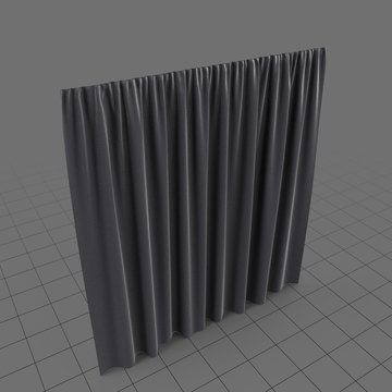 Presentation curtain
