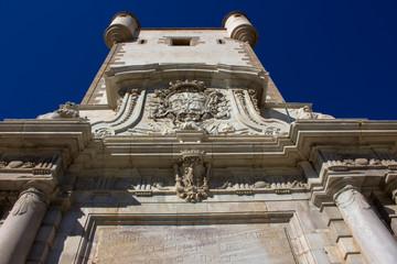 Wall. Puerta de Tierra. Cádiz. Picture taken – February 10, 2018.