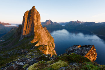 Norvège, Segla peak