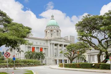 Сингапур,  Старое здание Верховного суда.