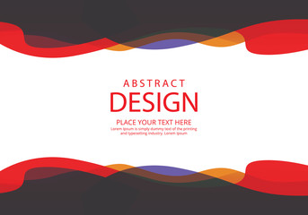 Modern banners with abstract design
