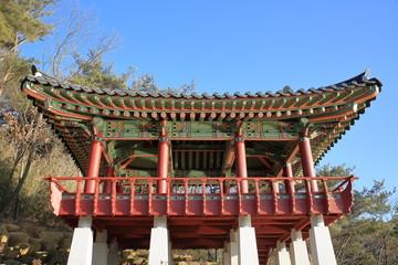 한국의 임경대 정자