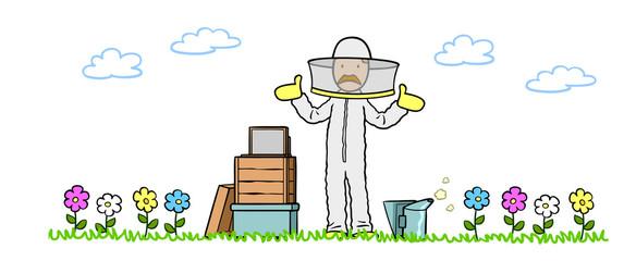 Bienensterben oder CCD mit Imker