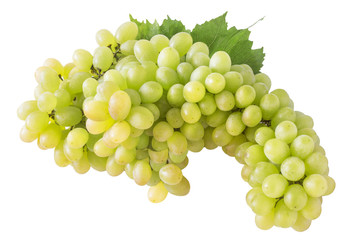 one large grave of sweet white light grapes