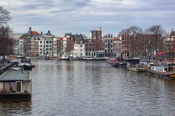 アムステルダムの運河地区