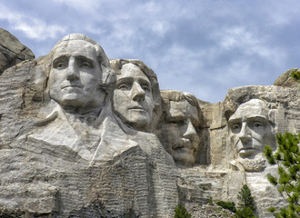 Fototapete - Mount Rushmore National Monument, South Dakota
