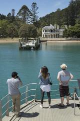 Kawau island New Zealand. The Victorian Mansion house