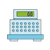 """cash register cashier flat icon isolated vector ..."