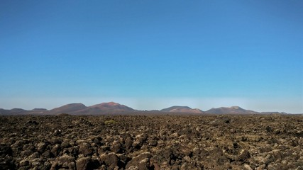 Timanfaya Badlands