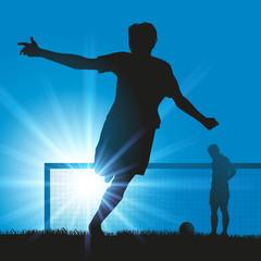 victoire - football - gagner - foot - gagnant - vainqueur - réussite - succès - symbole - footballeur - sport