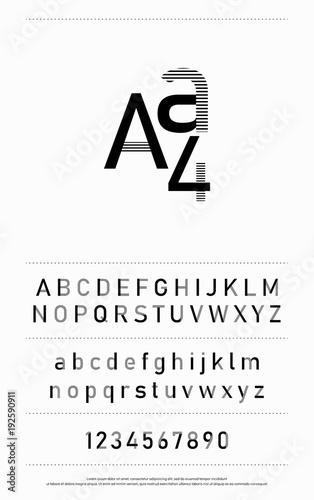 typography fonts alphabet