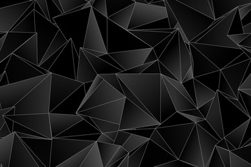 Polygonal background. Abstract triangulated texture