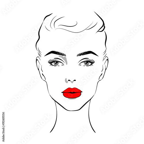 Fashion Face Drawing