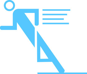 Läufer Piktogramm