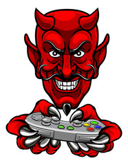 Devil Esports Sports Gamer Mascot