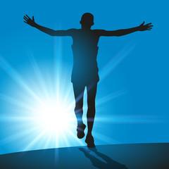 victoire - marathon - gagner - course - gagnant -vainqueur - réussite - succès - symbole