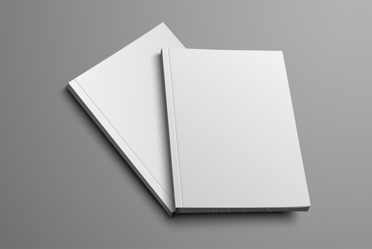 realistic layout of the brochure for the presentation of the cover.