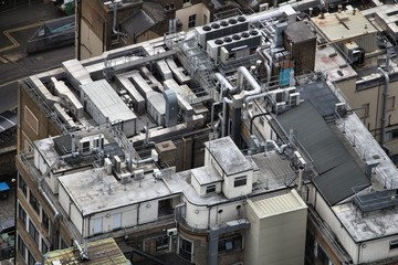 HVAC climate control - office rooftop
