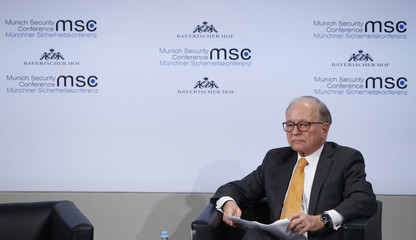 Conference chairman Ischinger attends the Munich Security Conference in Munich