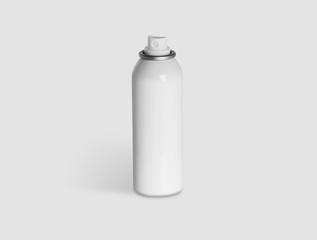 Bomboletta spray neutra in metallo bianco