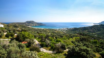 Krajobrazy Krety, Grecja