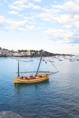 Cadaques, coastal village of the mediterranean sea - Catalonia, Girona, Spain