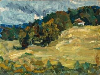 Oil painting, handmade