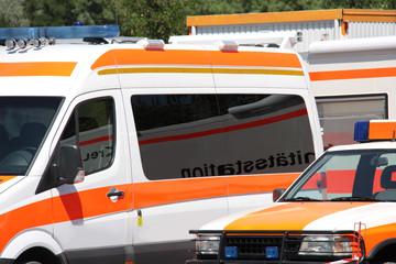 Rettungsdienst Einsatzfahrzeuge