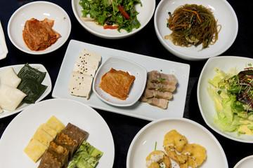 Koreanisches festliches Essen