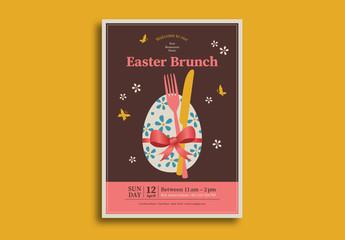 Easter Brunch Flyer 2