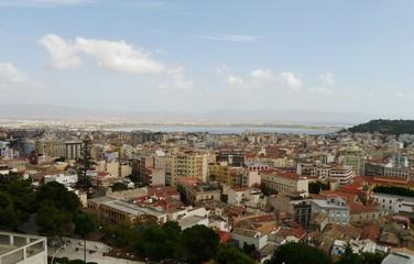 Panoramablick über Cagliari