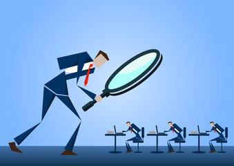 Closer examination of business world