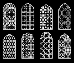 Traditional arabic window