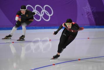 Olympics: Speed Skating-Womens 5000m