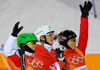 Olympics: Freestyle Skiing-Womens Aerials Final
