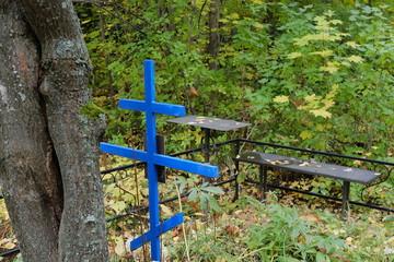 Могила на кладбище