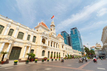 City Hall Ho Chi Minh City, Vietnam