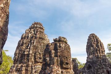 Angkor Thom, Bayon Temple, in Siem Reap, Cambodia