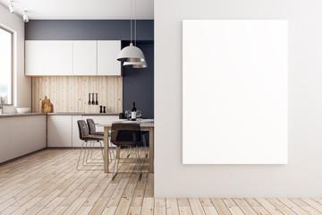 Luxury kitchen with copyspace