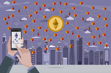 Ethereum Coin and Blockchain Network