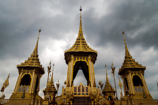 Royal Crematorium of King Rama Nine of Thailand