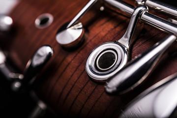 Part of a bassoon Fotobehang
