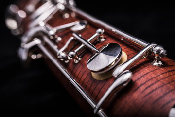 Part of a bassoon