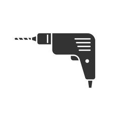 Drill black icon