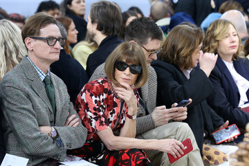 Vogue editor-in-chief Anna Wintour attends the JW Anderson show at London Fashion Week