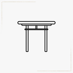 temple line icon