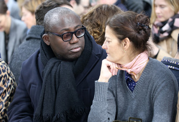 Editor of British Vogue Edward Enninful attends the J W Anderson show at London Fashion Week,